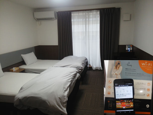 OYOホテルの室内