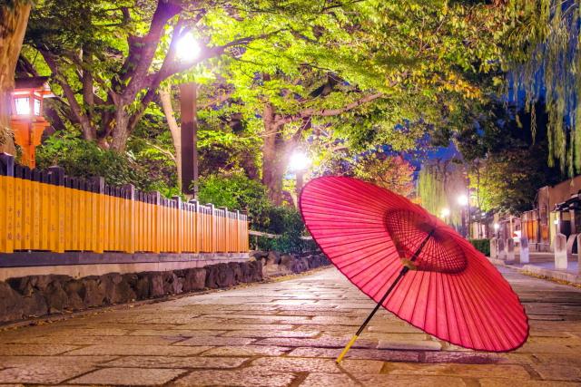 京都の観光地ではお客さんが減少